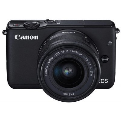 Цифровая фотокамера Canon EOS M10 Kit 15-45 IS STM Black (0584C012) фотоаппарат canon eos m10 kit 15 45 is stm white