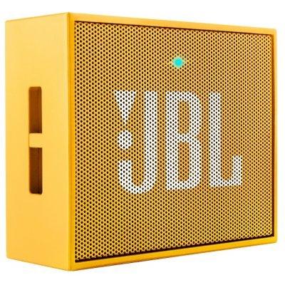 Портативная акустика JBL GO желтый (GO желтый) портативная акустика jbl go бирюзовая jblgoteal