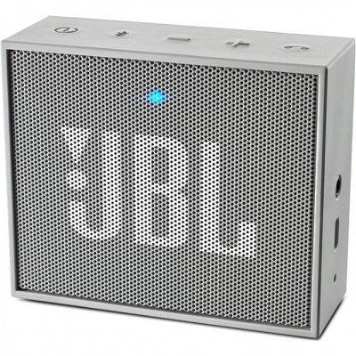 Портативная акустика JBL GO серый (JBLGOGRAY) портативная акустика jbl go orange
