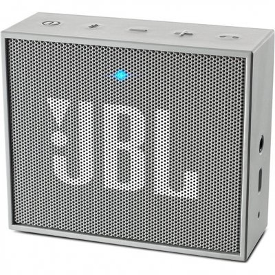 Портативная акустика JBL GO серый (JBLGOGRAY) портативная акустика беспроводная jbl horizon white