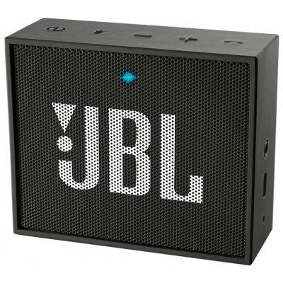 Портативная акустика JBL GO черный (JBLGOBLK) биотуалет thetford porta potti qube 165 luxe цвет слоновая кость