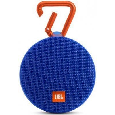 Портативная акустика JBL CLIP 2 синий (JBLCLIP2BLUE)Портативная акустика JBL<br>Портативная акустическая система  JBL CLIP 2, синяя<br>