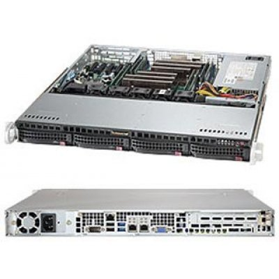 Серверная платформа SuperMicro SYS-6018R-MT (SYS-6018R-MT)Серверные платформы SuperMicro<br>Платформа SuperMicro SYS-6018R-MT 3.5 C612 1G 2P460W<br>