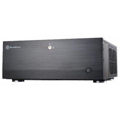 Корпус системного блока Silverstone Grandia SST-GD07B (SST-GD07B)Корпуса системного блока Silverstone<br>компьютерный корпус Full-Desktop<br>без блока питания<br>форм-фактор ATX, mATX, EATX<br>спереди: USB x2, наушн., микр.<br>материал: сталь<br>габариты: 440x175x435 мм<br>вес 7 кг<br>
