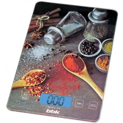 Весы кухонные BBK KS100G черный (KS100G)Весы кухонные BBK<br>Электронные кухонные весы BBK KS100G черный<br>