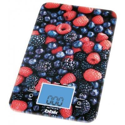 Весы кухонные BBK KS107G темно-синий/красный (BBK KS107G)