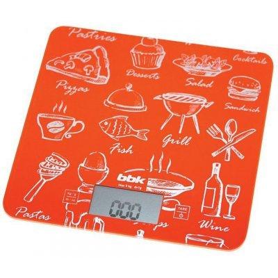 Весы кухонные BBK KS108G оранжевый (KS108G) весы bbk ks108g orange