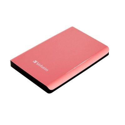Внешний жесткий диск Verbatim 1TB [53173] (53173)Внешние жесткие диски Verbatim<br>Внешний жесткий диск 1TB Verbatim Store &amp;amp;#039;n&amp;amp;#039; Go, 2.5, USB 3.0, Коралловый<br>