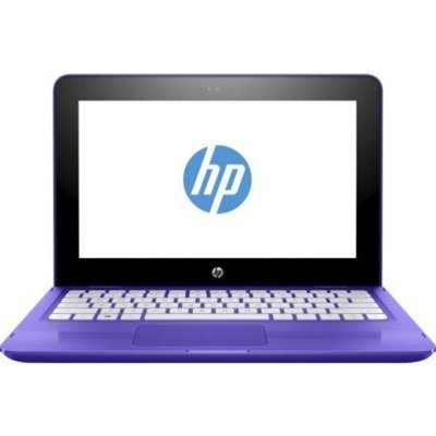 Ультрабук-трансформер HP x360 11-ab005ur (Y7Y55EA) (Y7Y55EA)Ультрабуки-трансформеры HP<br>HP Stream x360 11 PQC N3710 4Gb 500Gb Intel HD Graphics 405 11,6 HD TouchScreen(Mlt) IPS BT Cam 3900мАч Win10 Фиолетовый 11-ab005ur Y7Y55EA<br>
