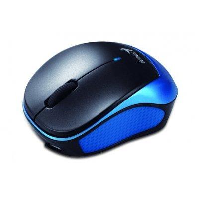 Мышь Genius Micro Traveler 9000R V3 синий/чёрный (31030132101) genius hs 300a silver
