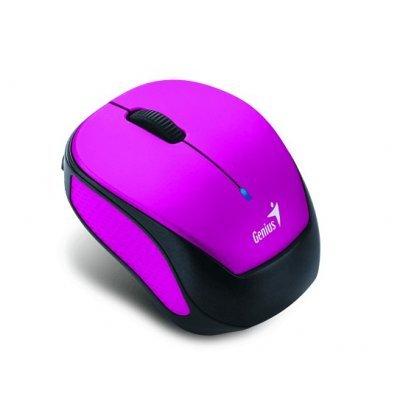 Мышь Genius Micro Traveler 9000R V3 розовый/чёрный (31030132100) мышь беспроводная genius micro traveler 9000r v3 синий чёрный usb