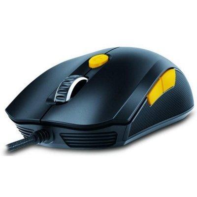 Мышь Genius M8-610 черный/оранжевый (31040064102) гарнитура genius hs 04su с устранением шумовых помех для msn