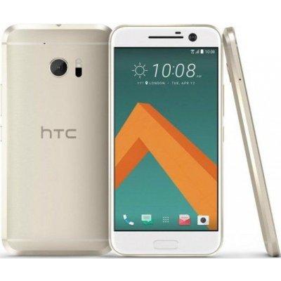 Смартфон HTC 10 EEA 4/32Gb Topaz Gold (Золотой) (99HAJH116-00) смартфоны htc смартфон desire 530 eea