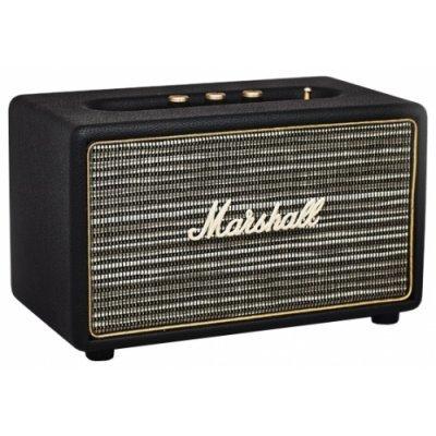 Портативная акустика Marshall Acton черный (04090986)Портативная акустика Marshall<br>портативная акустика 2.1<br>мощность 2x8 Вт<br>мощность сабвуфера 25 Вт<br>питание от сети<br>линейный вход<br>Bluetooth<br>