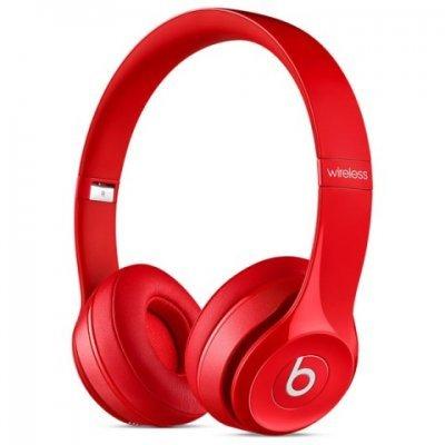 Bluetooth-гарнитура Beats Solo 2 WL красный (MHNJ2ZE/A)Bluetooth-гарнитуры Beats<br>Гарнитура накладные Beats Solo 2 WL красный беспроводные bluetooth (оголовье)<br>