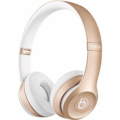 Bluetooth-гарнитура Beats Solo 2 WL SE2 золотистый (MKLD2ZE/A)Bluetooth-гарнитуры Beats<br>Гарнитура накладные Beats Solo 2 WL SE2 золотистый беспроводные bluetooth (оголовье)<br>