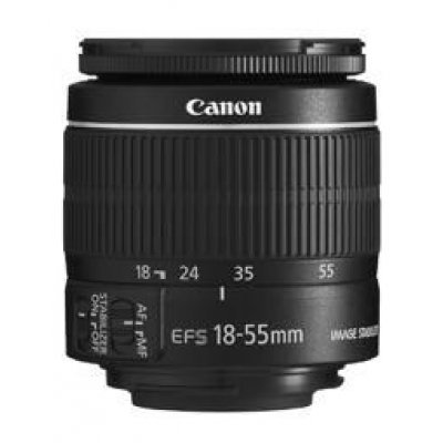 Объектив для фотоаппарата Canon EFS IS II (5121B005) 18-55мм f/3.5-5.6 (5121B005)Объективы для фотоаппарата Canon<br>Объектив Canon EFS IS II (5121B005) 18-55мм f/3.5-5.6<br>