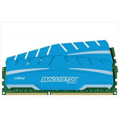 Модуль оперативной памяти ПК Crucial BLS2C4G3D18ADS3J (BLS2C4G3D18ADS3J)Модули оперативной памяти ПК Crucial<br>Память DDR3 2x4Gb 1866MHz Crucial BLS2C4G3D18ADS3J RTL PC3-14900 CL10 DIMM 240-pin 1.5В kit<br>