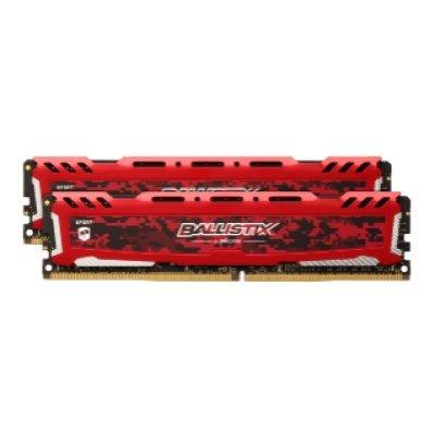 Модуль оперативной памяти ПК Crucial BLS2C8G4D240FSE (BLS2C8G4D240FSE)Модули оперативной памяти ПК Crucial<br>Память DDR4 2x8Gb 2400MHz Crucial BLS2C8G4D240FSE OEM PC4-19200 CL16 DIMM 288-pin 1.2В kit<br>