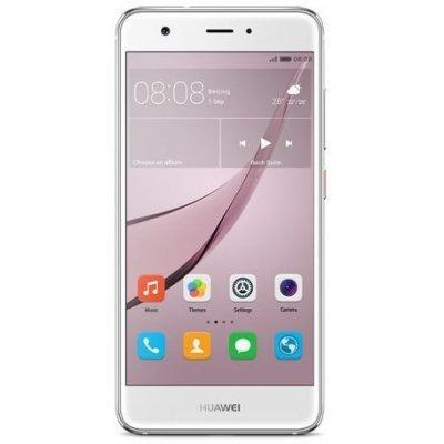 Смартфон Huawei Nova серебристый (51090XLA)Смартфоны Huawei<br>Смартфон Huawei Nova серебристый моноблок 3G 4G 2Sim 5 Android 6.0 802.11bgn BT GPS<br>