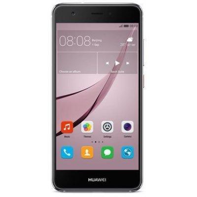 Смартфон Huawei Nova серый (51090XKX)Смартфоны Huawei<br>Смартфон Huawei Nova серый моноблок 3G 4G 2Sim 5 Android 6.0 802.11bgn BT GPS<br>