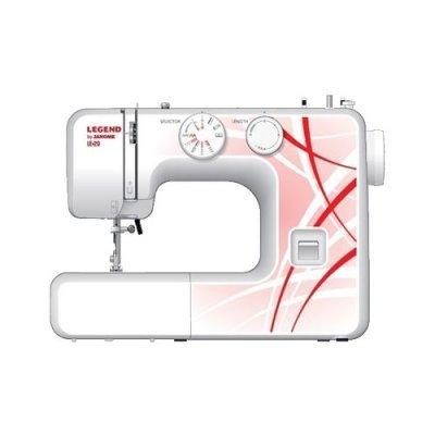 Швейная машина Janome LEGEND LE20 белый/рисунок (LEGEND LE20) швейная машинка janome sew mini deluxe