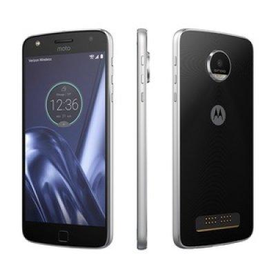 Смартфон Motorola MOTO Z PLAY 32Gb черный/серебристый (SM4425AE7U1) смартфон motorola moto z xt1650 5 5 qhd 2560х1440 qualcomm snapdragon 820 4gb 32gb dual sim sd lte wifi bt 13mp fingerprint sensor android 6 0 black