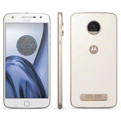 Смартфон Motorola MOTO Z PLAY 32Gb белый/золотистый (SM4425AD1U1)Смартфоны Motorola<br>5.5 FullHD/ 1920х1080/ Qualcomm Snapdragon 625/ 3GB/ 32GB/ Dual SIM/ SD/ LTE/ WiFi/ BT/ 16MP/ Finger Print Sensor/ Android 6.0/ White&amp;amp;Fine Gold<br>