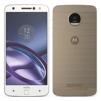 Смартфон Motorola Moto Z XT1650-03 белый/золотистый (SM4389AD1U1) смартфон motorola moto z xt1650 5 5 qhd 2560х1440 qualcomm snapdragon 820 4gb 32gb dual sim sd lte wifi bt 13mp fingerprint sensor android 6 0 black