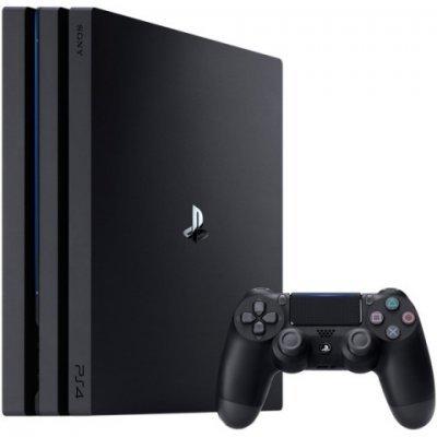 Игровая консоль Sony PlayStation 4 Pro 1Tb черный + Dualshock 4 (PS719887850) игровая приставка sony playstation 4 pro 1tb black