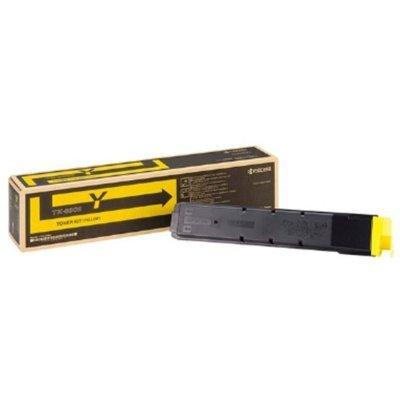 Тонер-картридж для лазерных аппаратов Kyocera TK-8345Y (yellow) желтый для TASKalfa 2552ci (1T02L7ANL0)Тонер-картриджи для лазерных аппаратов Kyocera<br>(ресурс 12 000 c.).<br>