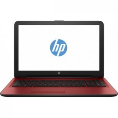 Ноутбук HP 15-ay550ur (Z9B22EA) (Z9B22EA)Ноутбуки HP<br>Ноутбук HP 15-ay550ur Pentium N3710/4Gb/500Gb/AMD Radeon R5 M430 2Gb/15.6/HD (1366x768)/Windows 10 64/red/WiFi/BT/Cam<br>