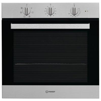 Электрический духовой шкаф Indesit IFW 6530 IX (IFW 6530 IX)Электрические духовые шкафы Indesit<br>электрическая независимая духовка<br>59.5 х 59.5 x 55.1 см<br>поворотные переключатели<br>гриль<br>