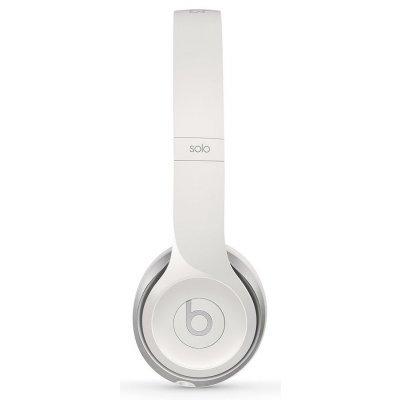 Наушники Beats Solo (2014) белый (MH8X2ZE/A)Наушники Beats<br>тип соединения: проводные; акустический тип: закрытые; тип амбушюр: накладные<br>
