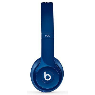 Наушники Beats Solo (2014) голубой (MHBJ2ZE/A) аудио наушники beats гарнитура beats solo 2 luxe edition ml9g2ze a накладные красный проводные