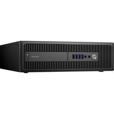 Настольный ПК HP EliteDesk 800 G2 SFF (X6T42EA) (X6T42EA)Настольные ПК HP<br>Core i5-6500,8GB DDR4-2133 (1x8GB),256GB 3D SSD,DVDRW,Win10Pro(64-bit),3-3-3 Wty<br>
