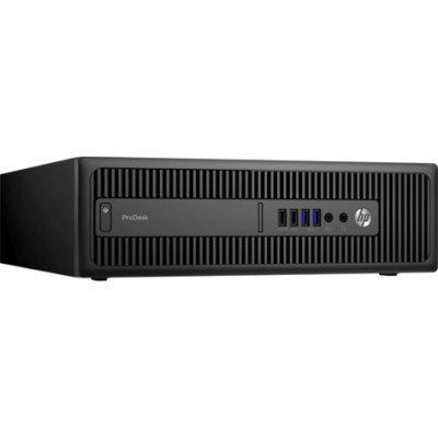 Настольный ПК HP ProDesk 600G2 SFF (X3J46EA) (X3J46EA)Настольные ПК HP<br>Core i5-6500,8GB DDR4-2133 (1x8GB),256GB 3D SSD,Win10Pro(64-bit),3-3-3 Wty<br>