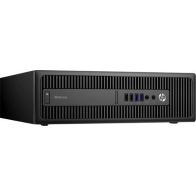 Настольный ПК HP EliteDesk 800 G2 SFF (X3J29EA) (X3J29EA)Настольные ПК HP<br>Intel Core i5 6500 (3.2GHz), 4096MB, 128GB SSD, DVD+/-RW, Shared VGA, Windows 10 Professional, Wi-Fi, Bluetooth, клавиатура + мышь (X3J29EA)<br>