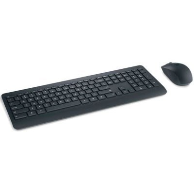 Комплект клавиатура+мышь Microsoft 900 черный (PT3-00017)Комплекты клавиатура мышь Microsoft<br>Клавиатура + мышь Microsoft 900 клав:черный мышь:черный USB беспроводная Multimedia<br>