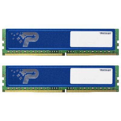 Модуль оперативной памяти ПК Patriot PSD416G2133KH (PSD416G2133KH)Модули оперативной памяти ПК Patriot<br>Память DDR4 2x8Gb 2133MHz Patriot PSD416G2133KH RTL PC4-17000 CL15 DIMM 288-pin 1.2В<br>