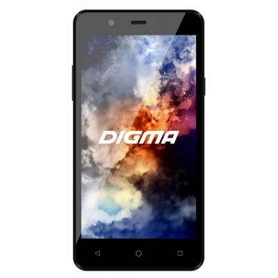 Смартфон Digma A501 4G LINX 8Gb черный (LT5010PL black) delicate alloy faux sapphire geometric ring for women