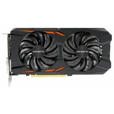 Видеокарта ПК Gigabyte GeForce GTX 1050 1392Mhz PCI-E 3.0 2048Mb 7008Mhz 128 bit DVI 3xHDMI HDCP Windforce OC (GV-N1050WF2OC-2GD), арт: 254253 -  Видеокарты ПК Gigabyte