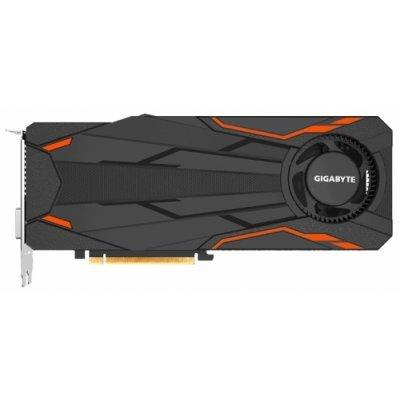 Видеокарта ПК Gigabyte GeForce GTX 1080 1632Mhz PCI-E 3.0 8192Mb 10010Mhz 256 bit DVI HDMI HDCP Turbo OC (GV-N1080TTOC-8GD)Видеокарты ПК Gigabyte<br>видеокарта NVIDIA GeForce GTX 1080<br>8192 Мб видеопамяти GDDR5X<br>частота ядра/памяти: 1632/10010 МГц<br>поддержка режима SLI/CrossFire<br>разъемы DVI, HDMI, DisplayPort x3<br>поддержка DirectX 12, OpenGL 4.5<br>работа с 4 мониторами<br>