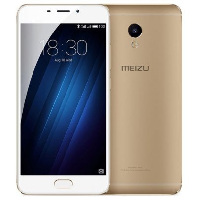 Смартфон Meizu M3E 32Gb золотистый (A680H 32GB GOLD) смартфон meizu mx6 32gb 4gb gold m685h
