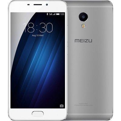 Смартфон Meizu M3E 32Gb серебристый (A680H 32GB SILVER)Смартфоны Meizu<br>Смартфон Meizu M3E A680H серебристый моноблок 3G 4G 2Sim 5.5 Android 6.0 802.11bgn BT GPS<br>