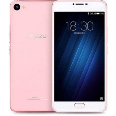 Смартфон Meizu U20 16Gb розовое золото (U685H-16-RG)Смартфоны Meizu<br>Смартфон Meizu U20 U685H 16Gb розовое золото моноблок 3G 4G 2Sim 5.5 1080x1920 Android 6.0 13Mpix 802.11abgnac BT GPS GSM900/1800 GSM1900 MP3<br>