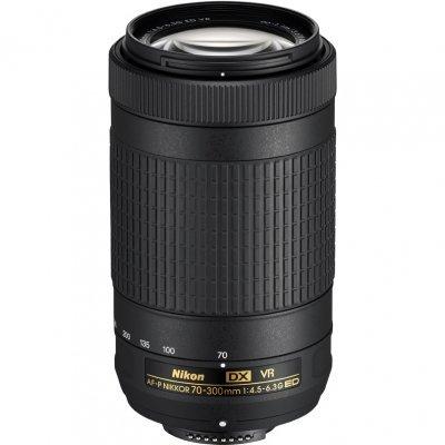Объектив для фотоаппарата Nikon AF-P VR ED (JAA829DA) 70-300мм f/4.5-6.3 (JAA829DA) объектив для фотоаппарата