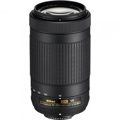Объектив для фотоаппарата Nikon AF-P VR ED (JAA829DA) 70-300мм f/4.5-6.3 (JAA829DA) af s vr zoom nikkor 70 300мм f 4 5 5 6g if ed