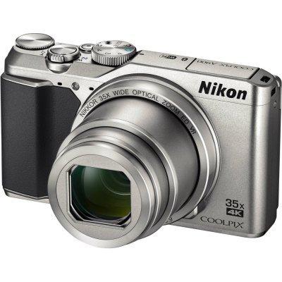 Цифровая фотокамера Nikon CoolPix A900 серебристый (VNA911E1) компактный фотоаппарат nikon coolpix a900 silver