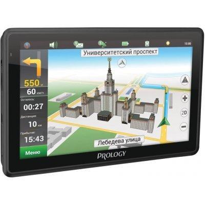 Навигатор GPS Prology iMAP-7500 (IMAP-7500)Навигаторы GPS Prology<br>Навигатор Автомобильный GPS Prology iMAP-7500 7 800x480 4Gb SD черный Navitel<br>